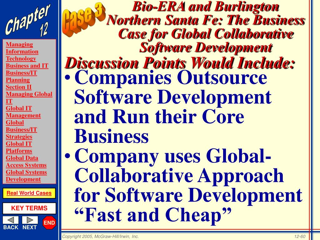Companies Outsource Software Development and Run their Core Business