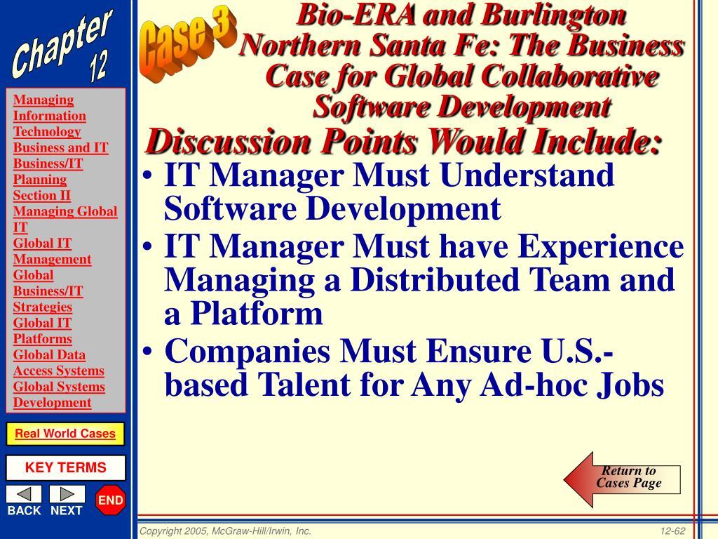 IT Manager Must Understand Software Development