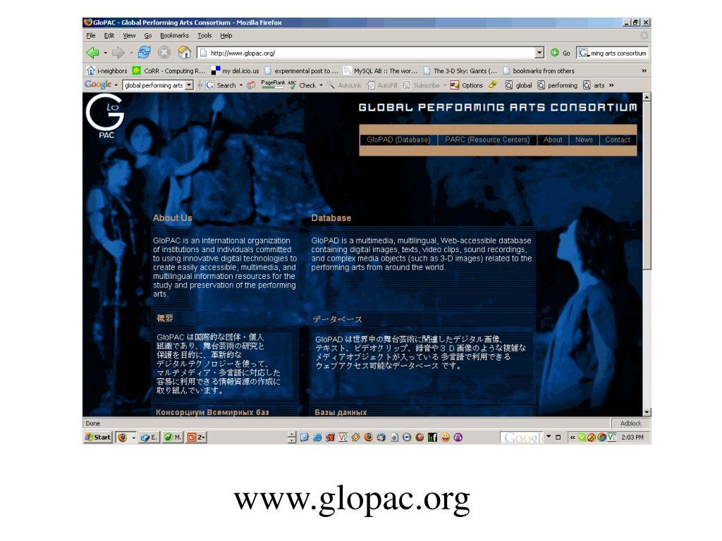 www.glopac.org
