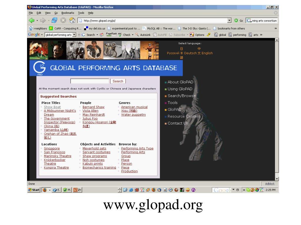 www.glopad.org