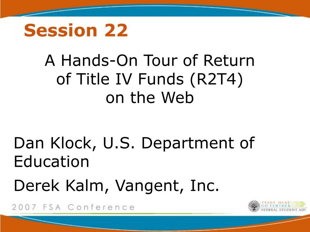 session 22