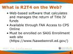 what is r2t4 on the web
