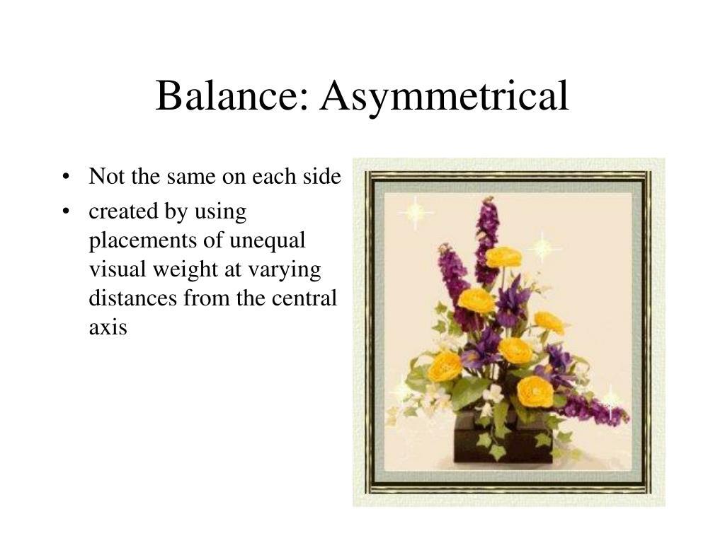 Balance: Asymmetrical