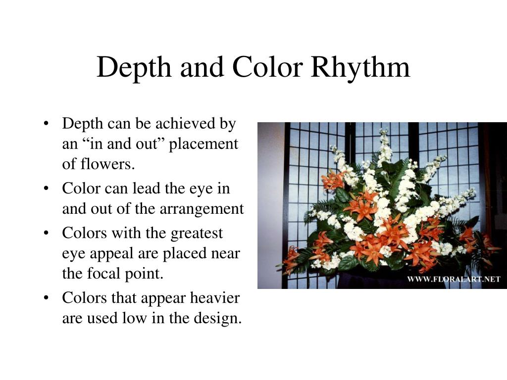 Depth and Color Rhythm
