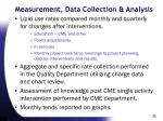 measurement data collection analysis