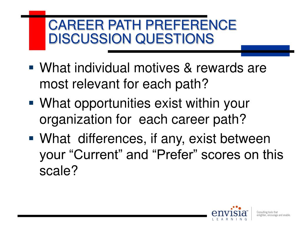 CAREER PATH PREFERENCE