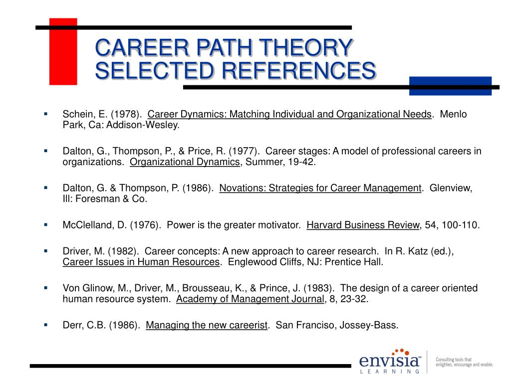 CAREER PATH THEORY