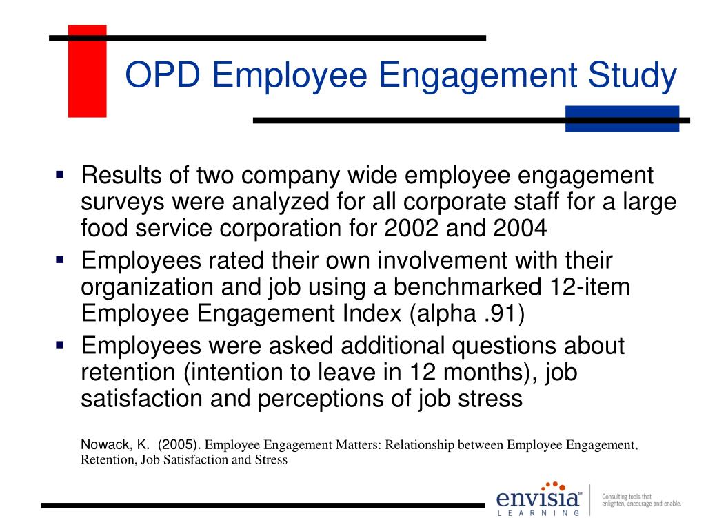 OPD Employee Engagement Study