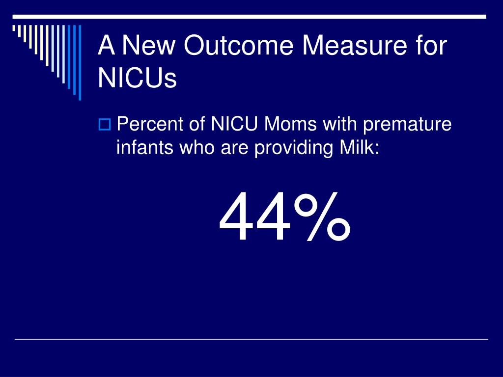 A New Outcome Measure for NICUs