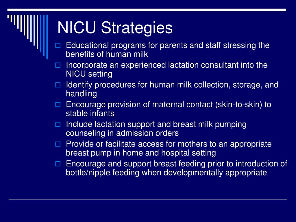 NICU Strategies