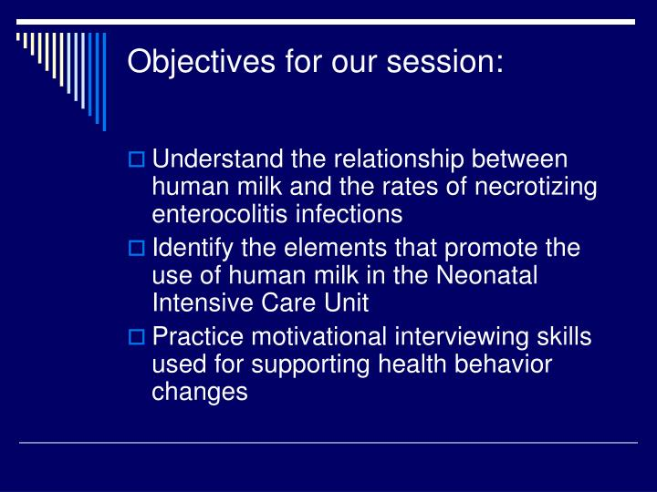 Objectives for our session l.jpg