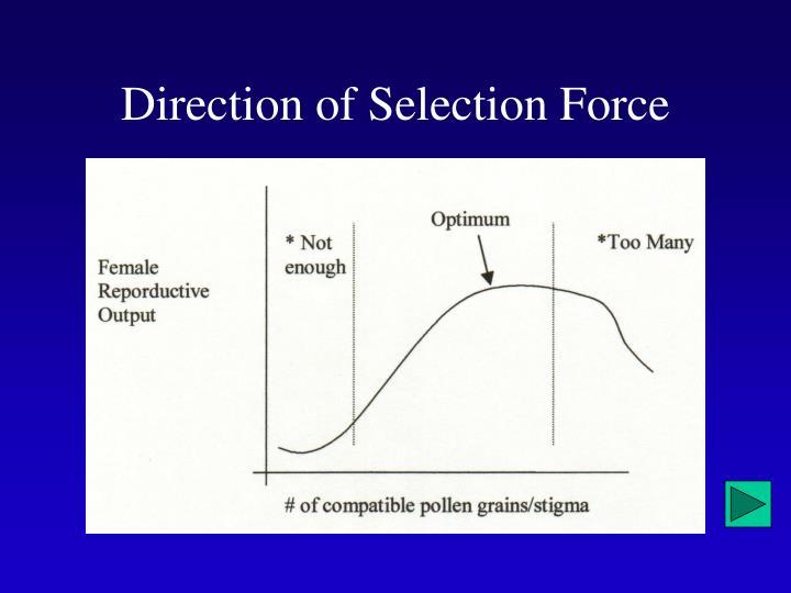 Direction of Selection Force