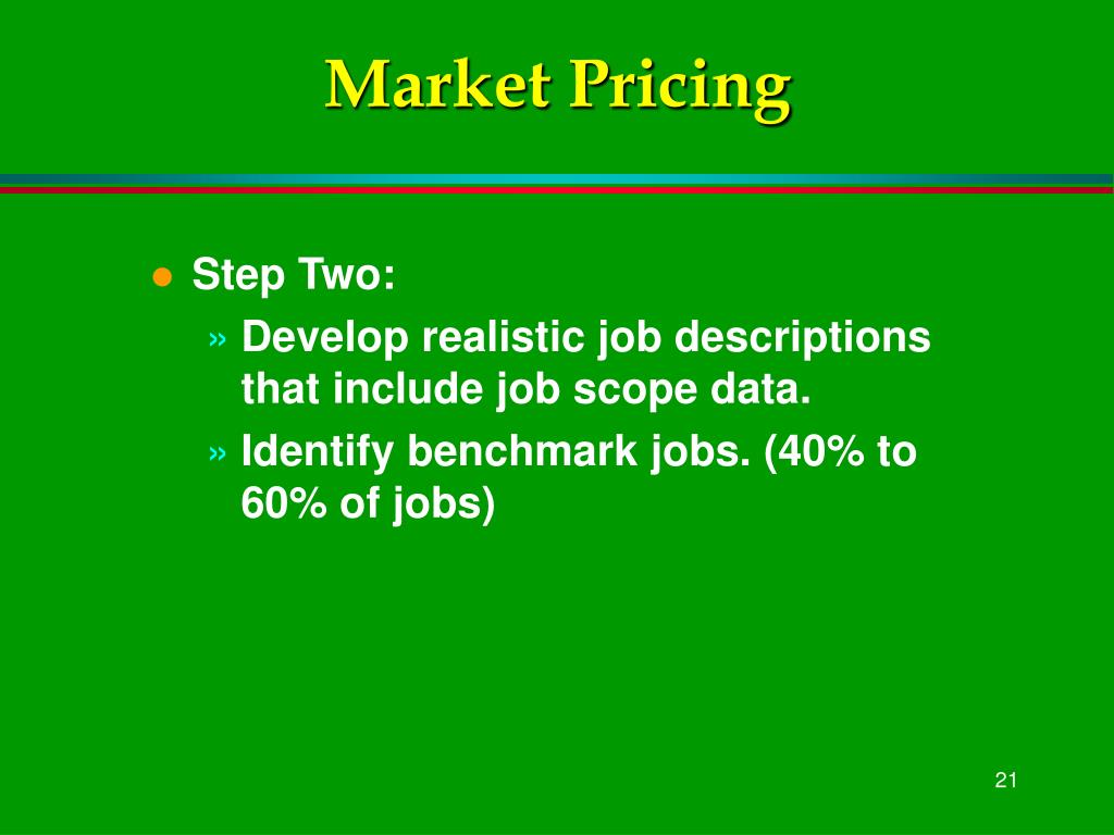 Market Pricing