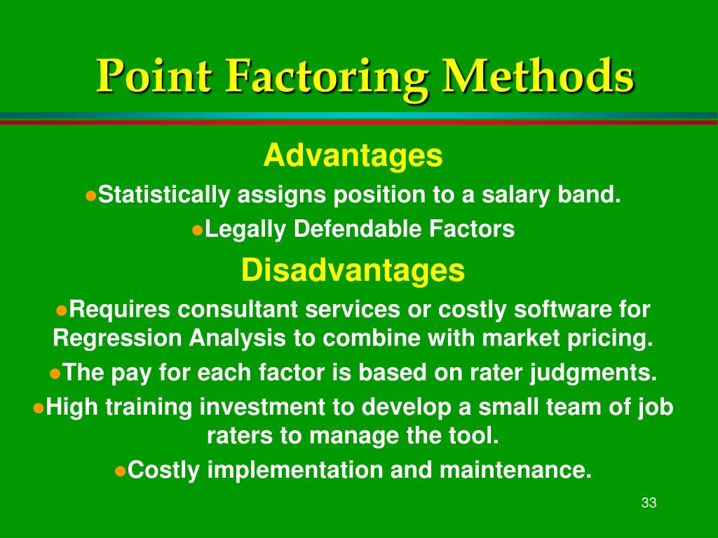 Point Factoring Methods