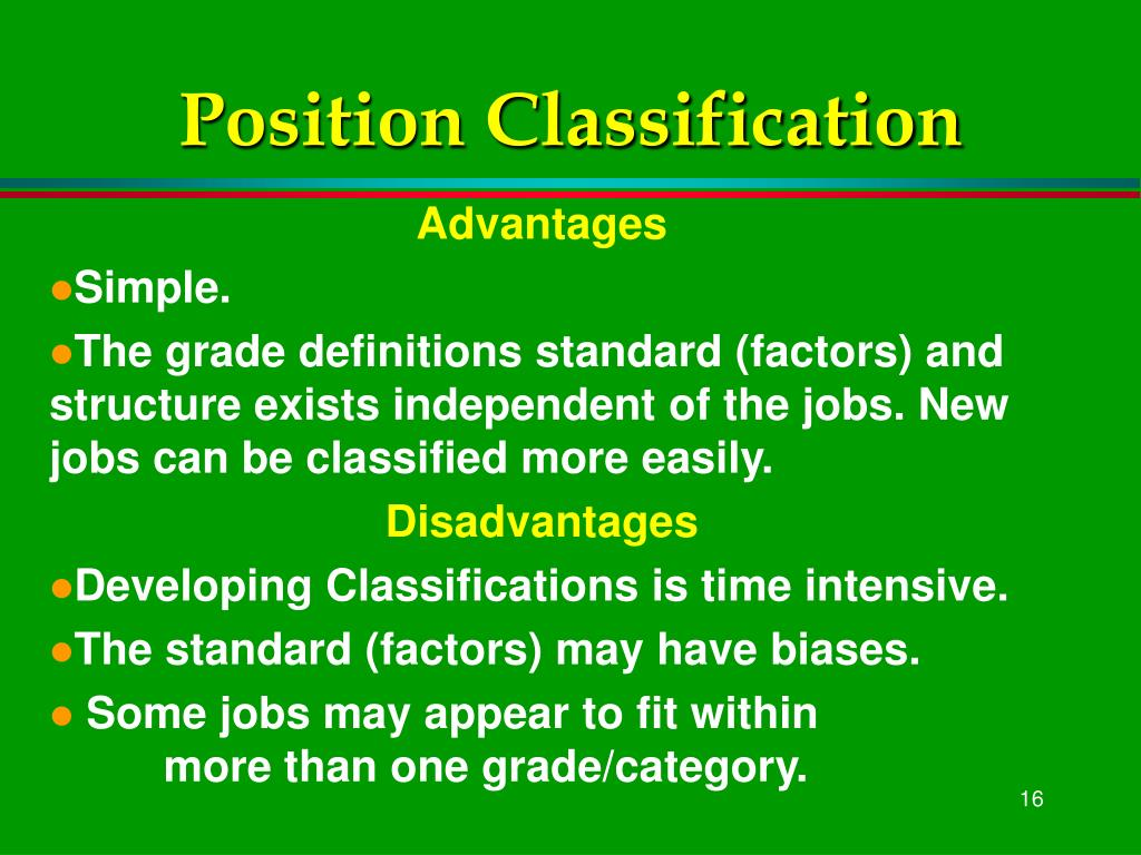 Position Classification