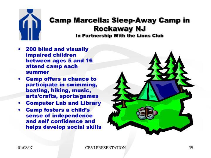Camp Marcella: Sleep-Away Camp in Rockaway NJ