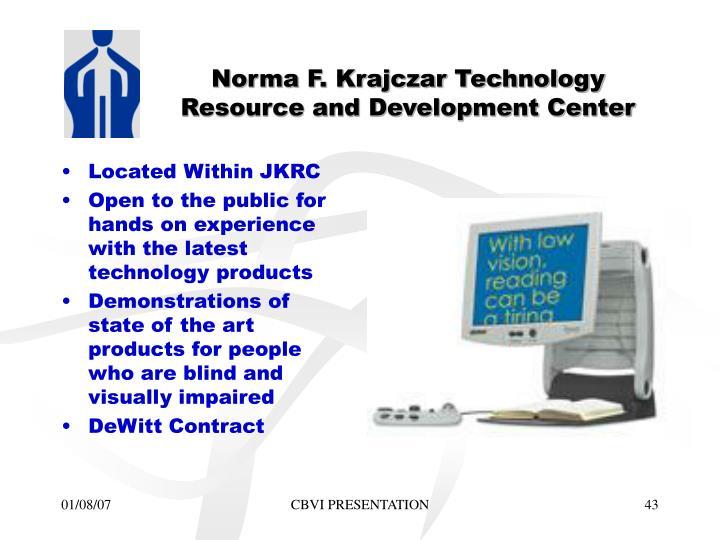 Norma F. Krajczar Technology Resource and Development Center