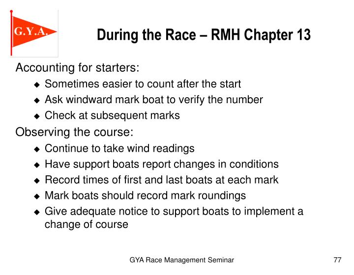 During the Race – RMH Chapter 13