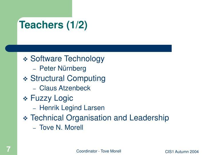 Teachers (1/2)