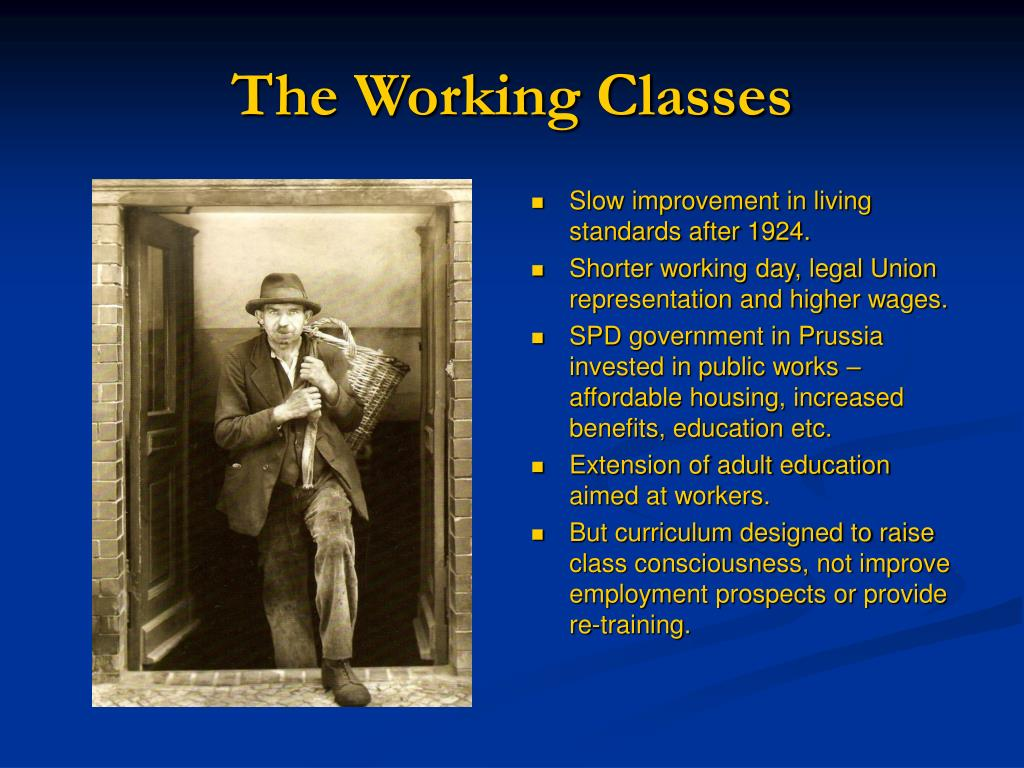 The Working Classes