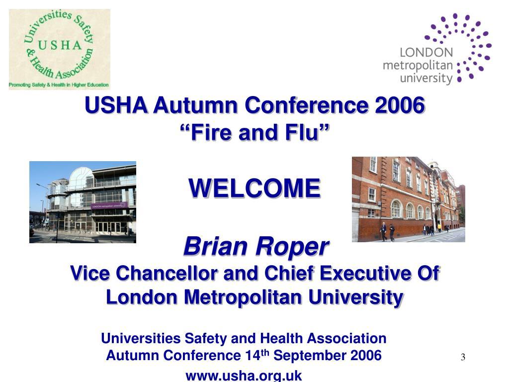 USHA Autumn Conference 2006