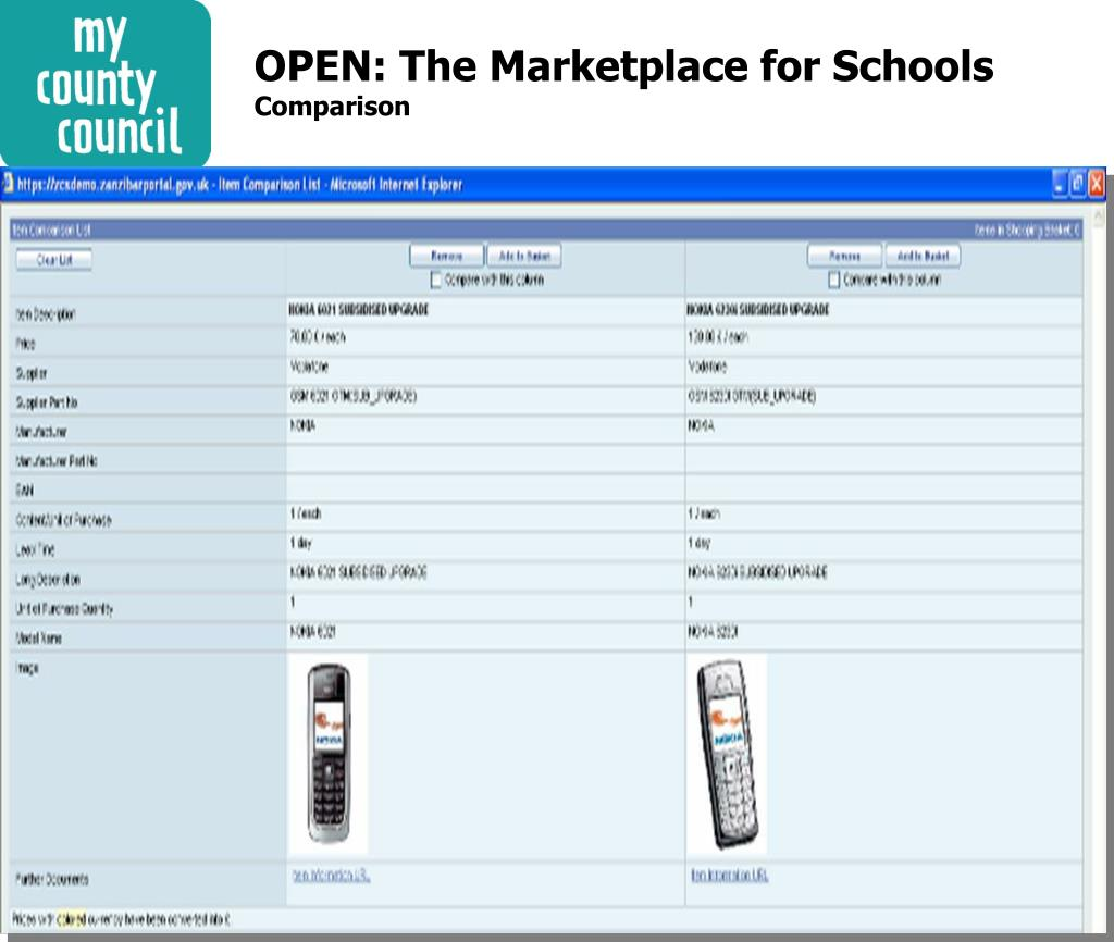 OPEN: The Marketplace for Schools