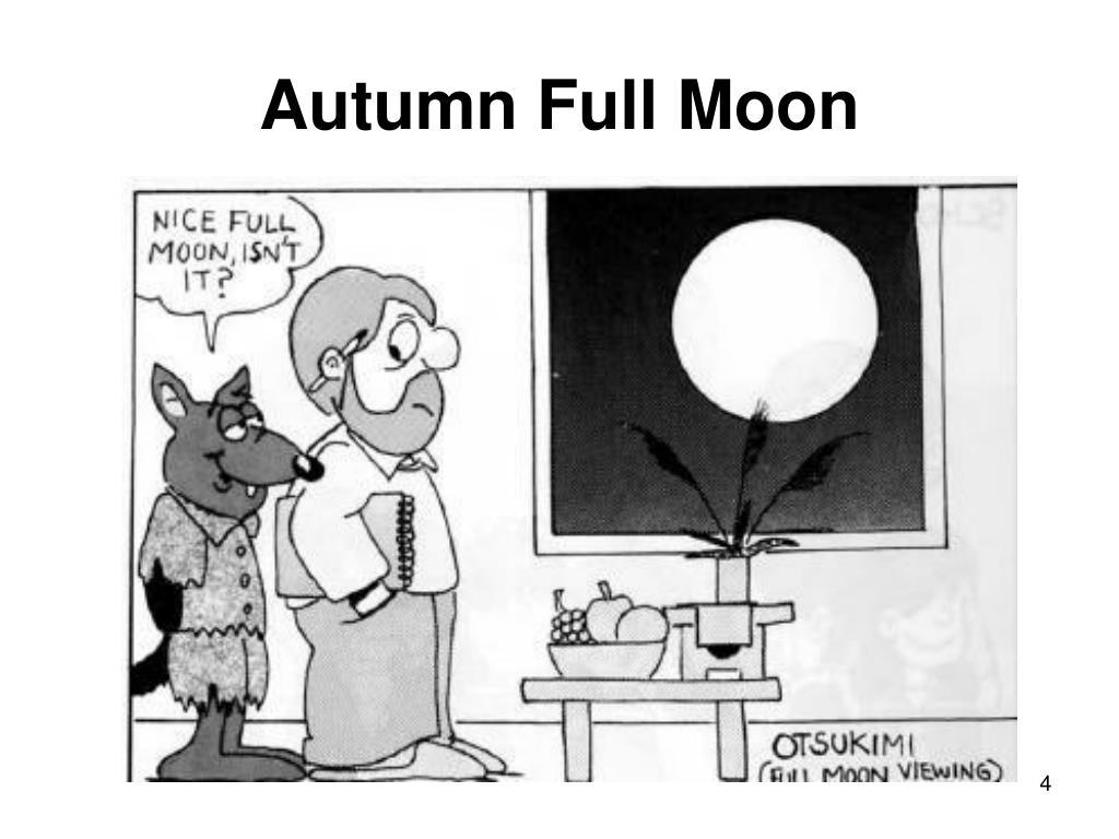 Autumn Full Moon