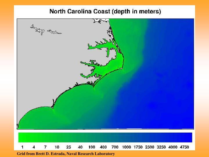 Grid from Brett D. Estrada, Naval Research Laboratory