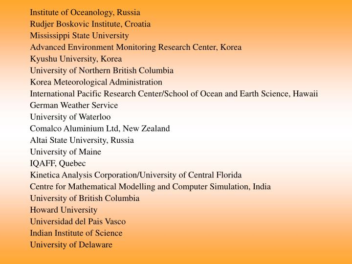Institute of Oceanology, Russia