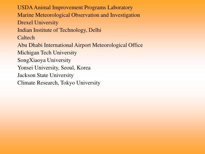 USDA Animal Improvement Programs Laboratory