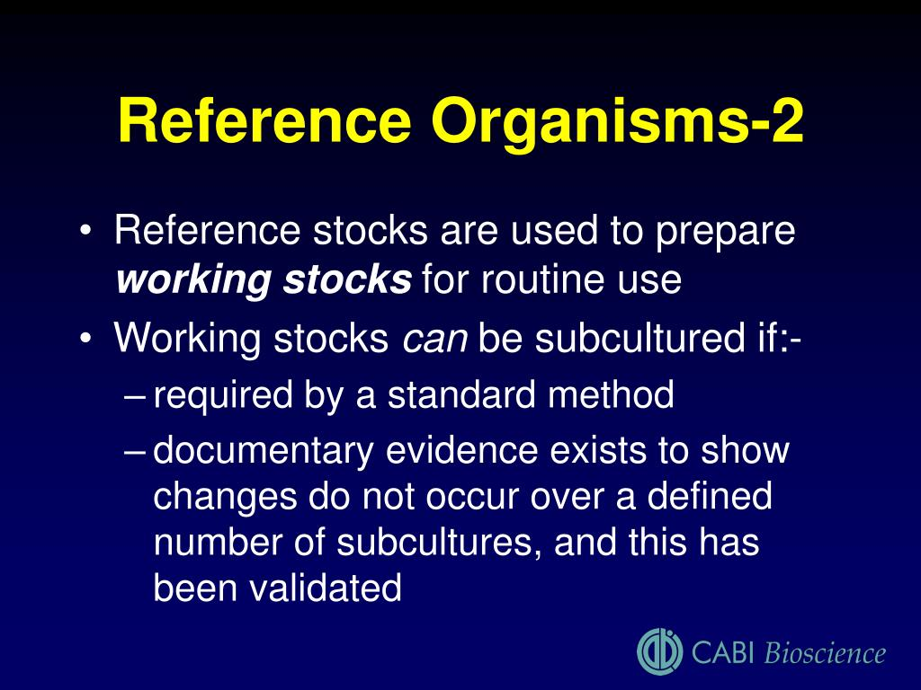 Reference Organisms-2