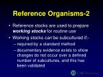 reference organisms 2