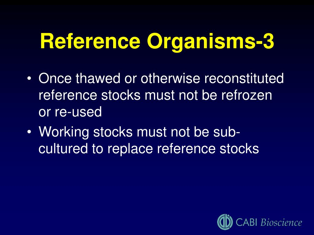 Reference Organisms-3