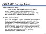 cozaar package insert