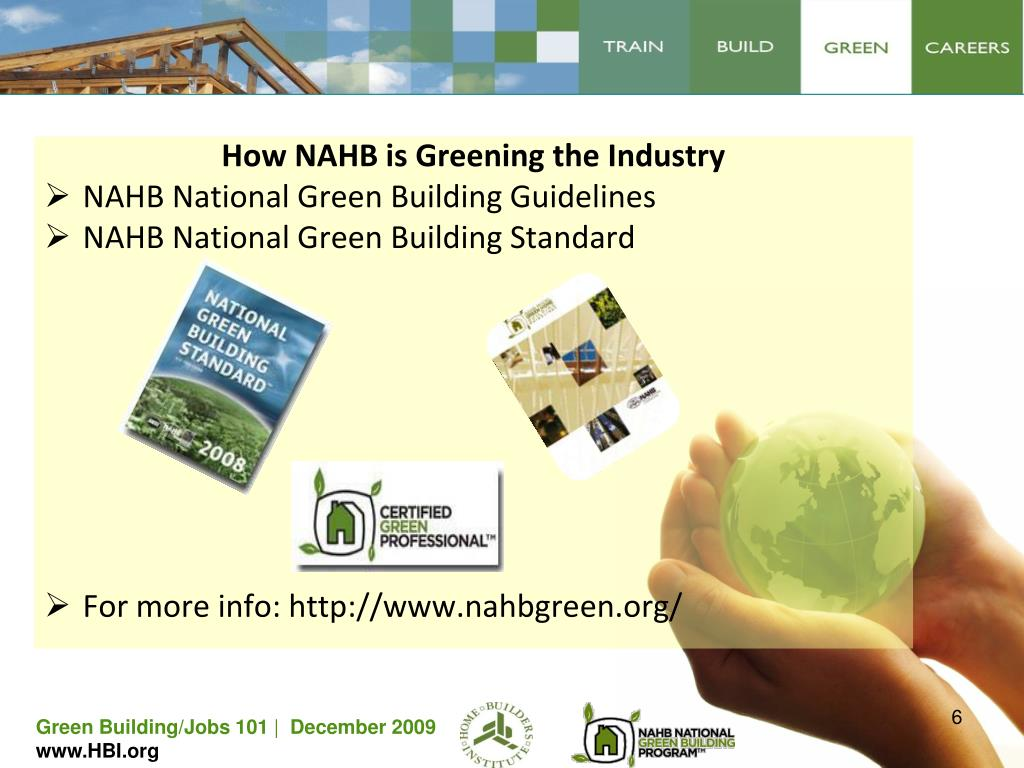 How NAHB is Greening the Industry