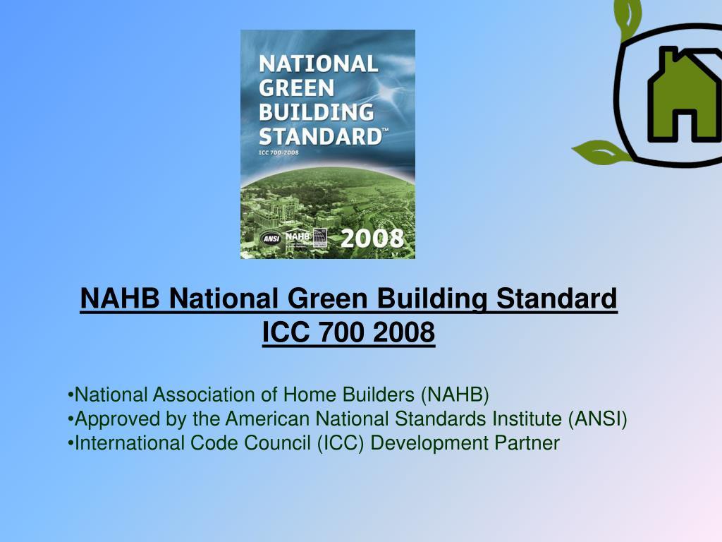 NAHB National Green Building Standard