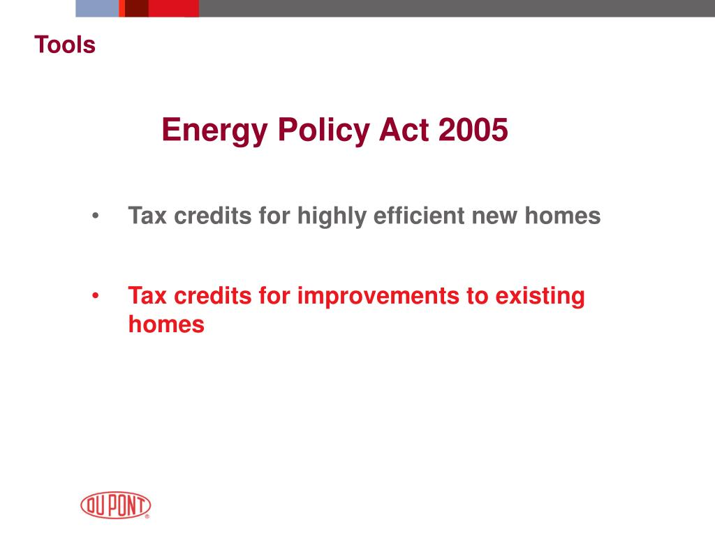 Energy Policy Act 2005