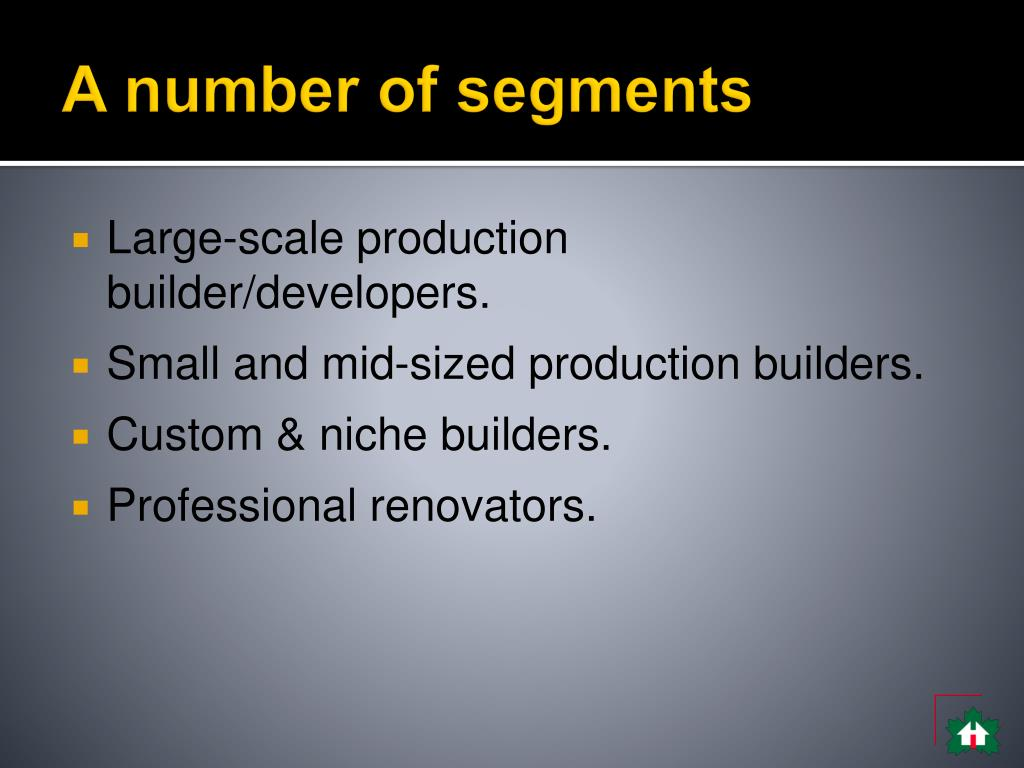 A number of segments