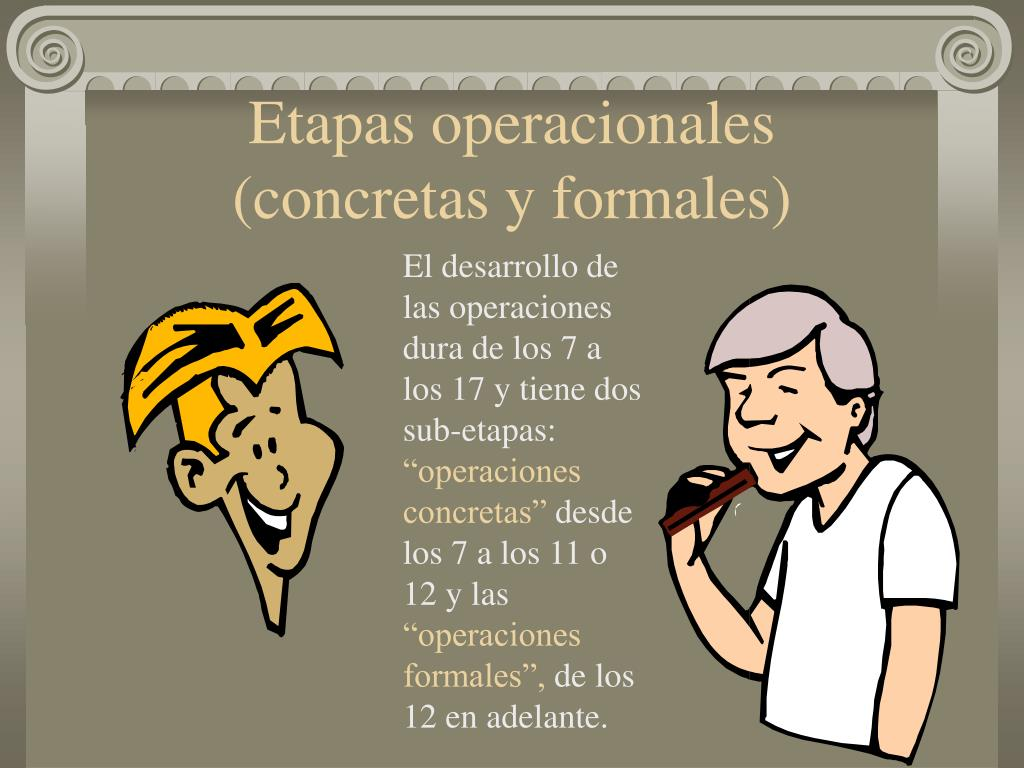 Etapas operacionales