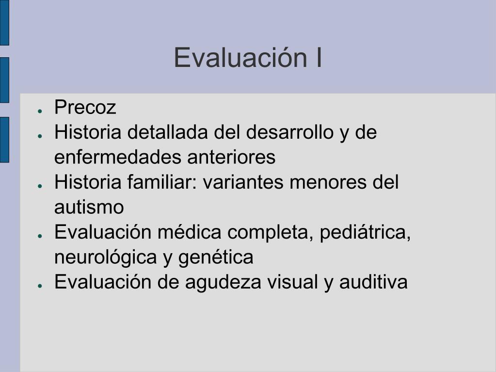Evaluación I