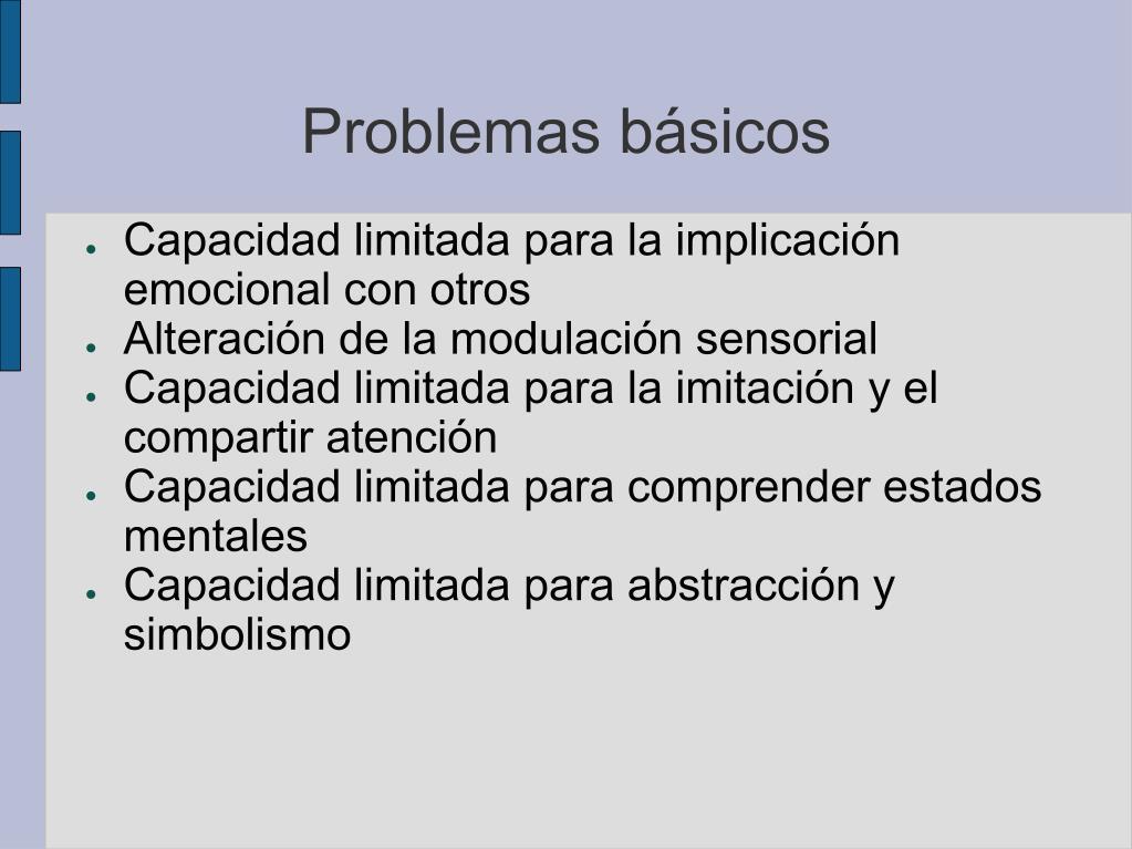 Problemas básicos