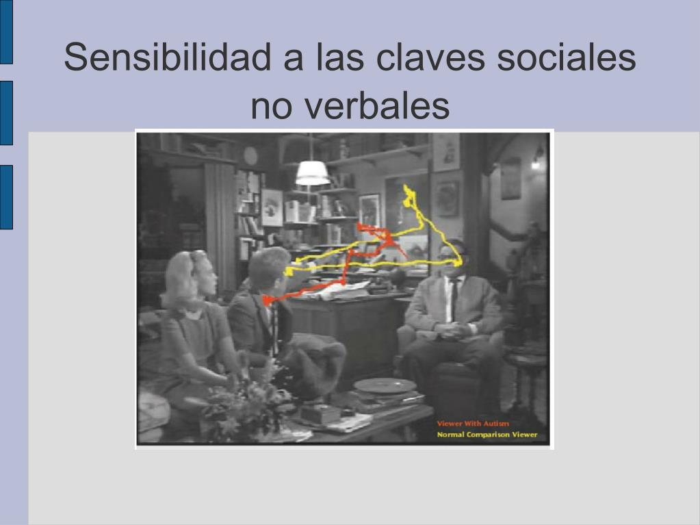 Sensibilidad a las claves sociales no verbales