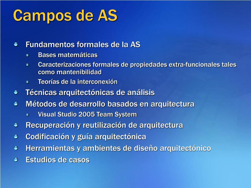 Campos de AS