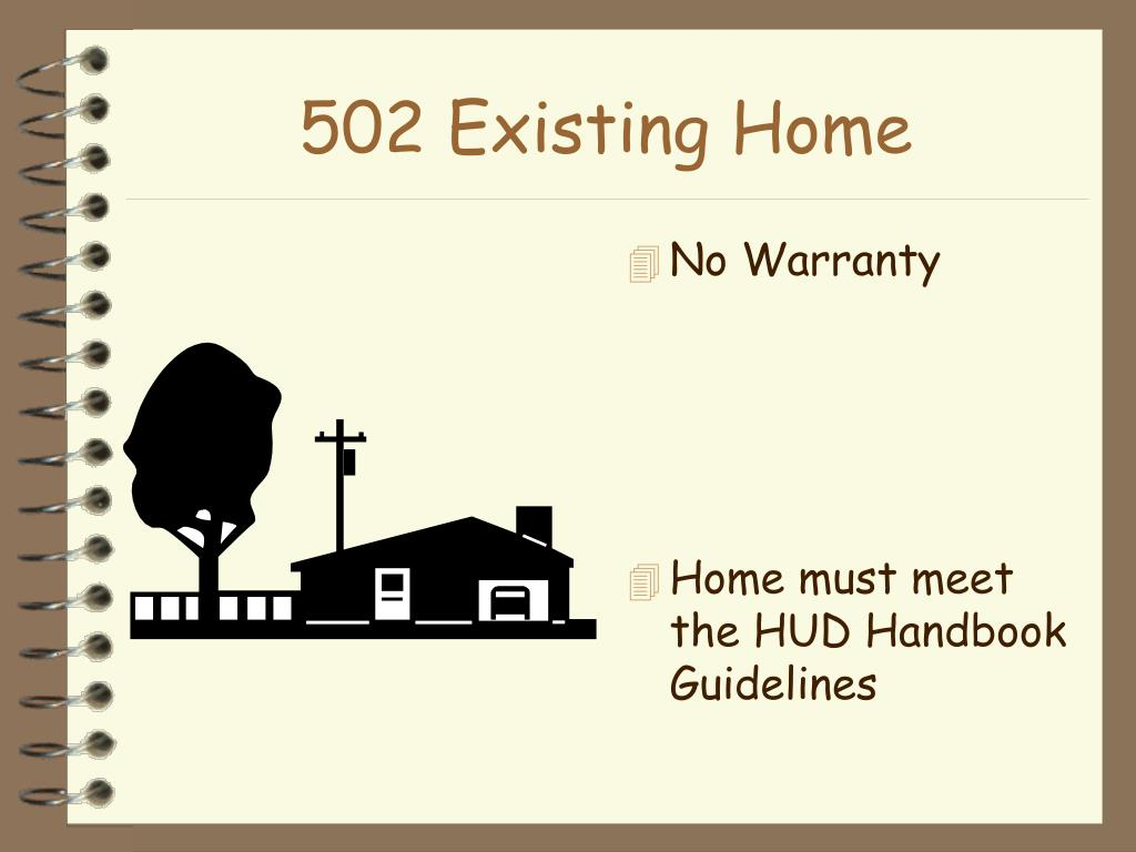 502 Existing Home