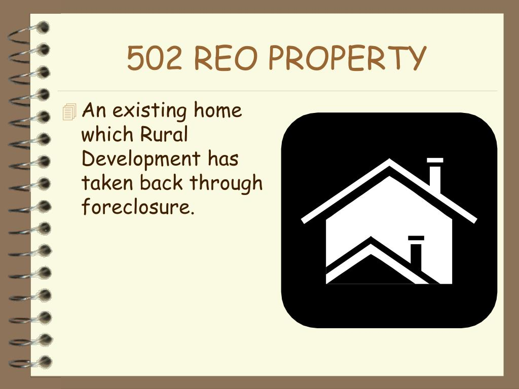 502 REO PROPERTY