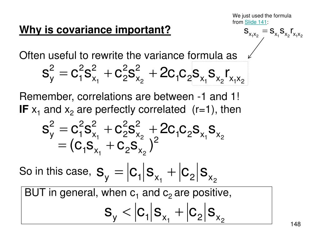 Remember, correlations are between -1 and 1!