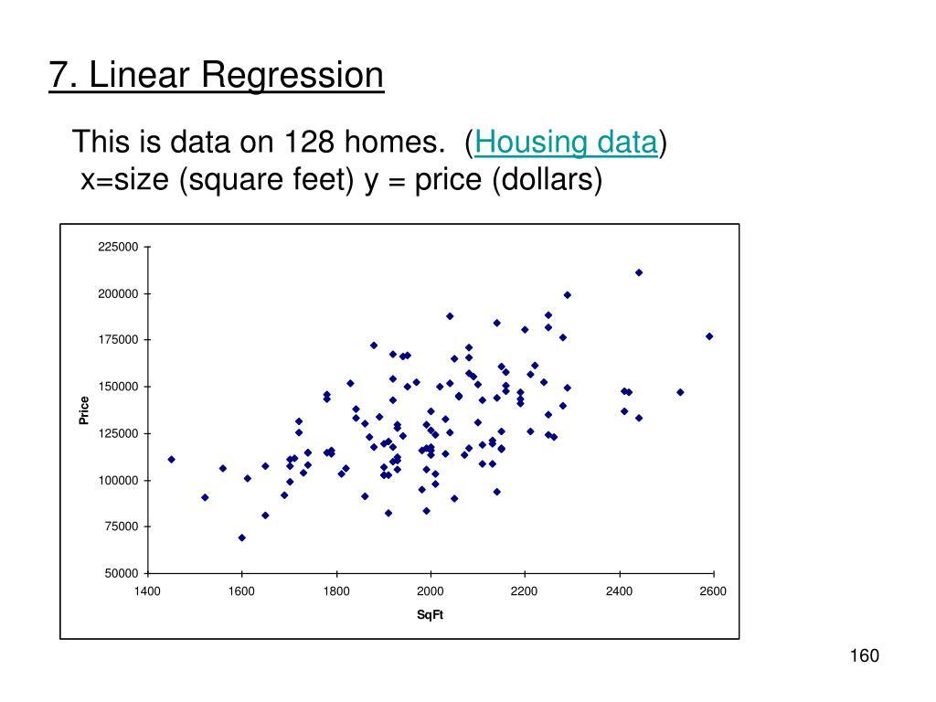 7. Linear Regression