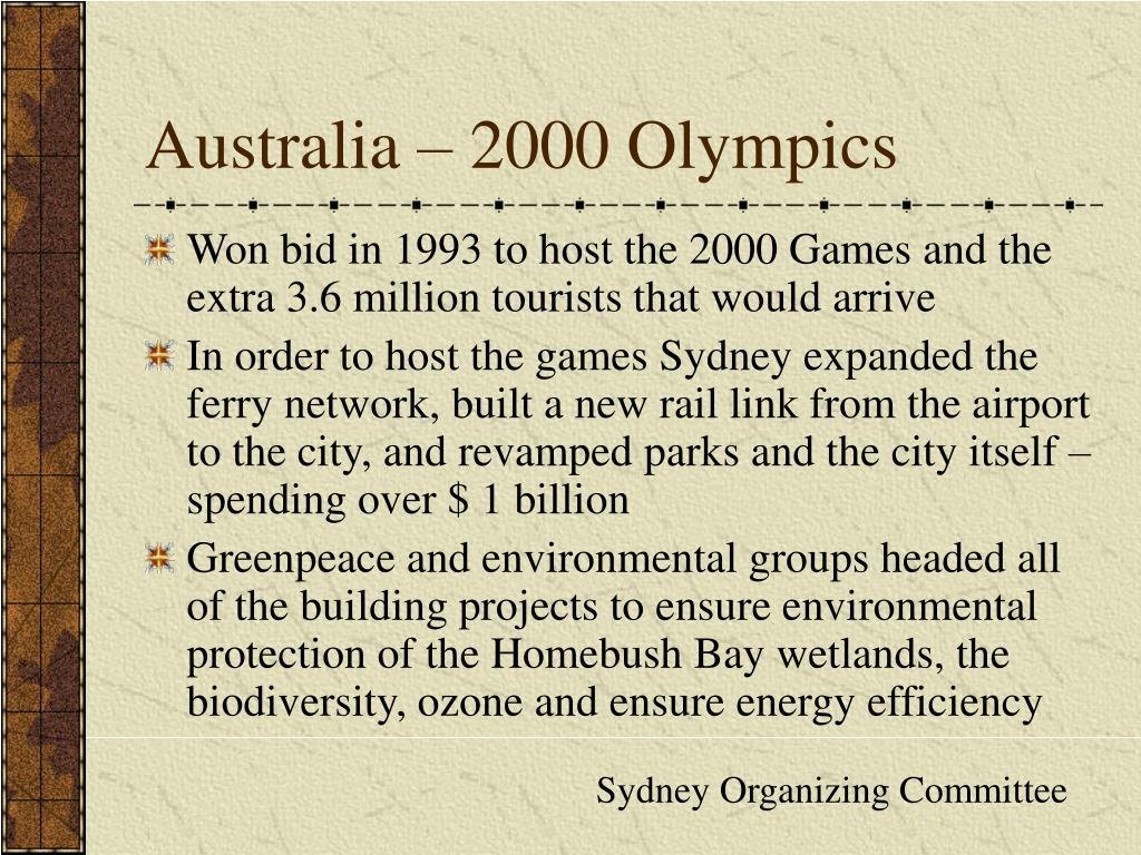 Australia – 2000 Olympics