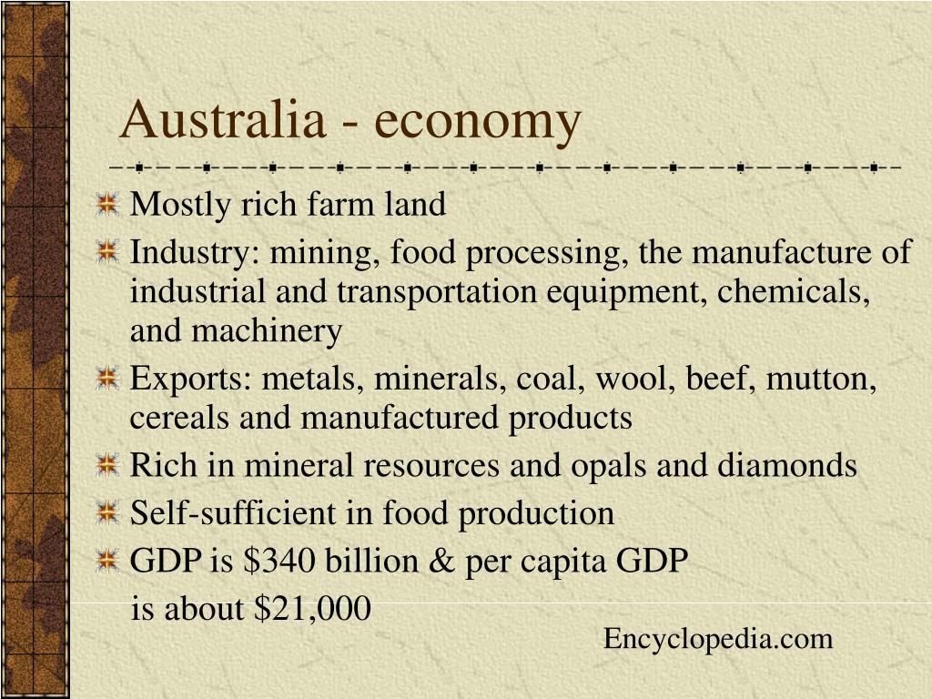 Australia - economy