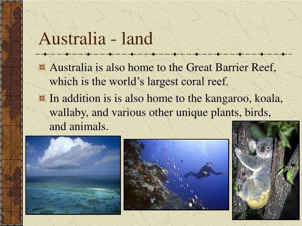 Australia - land